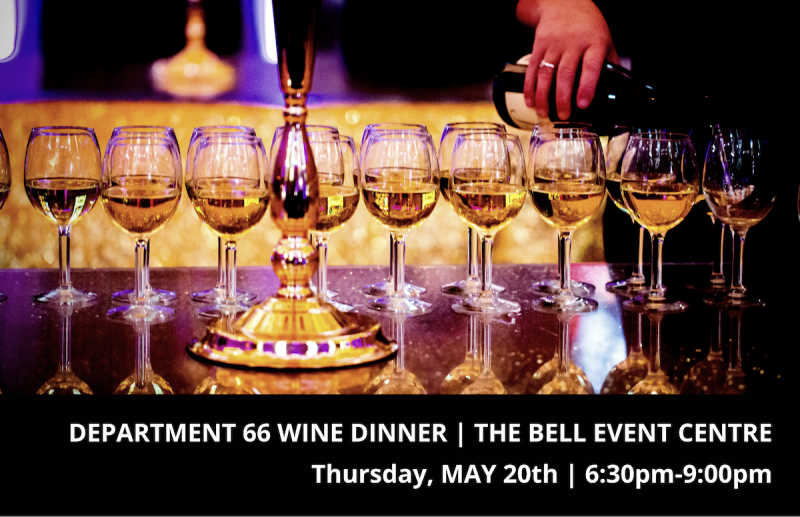 Dave Phinney's Department 66 Wine Dinner Featuring Savage & Cooke Distillery
