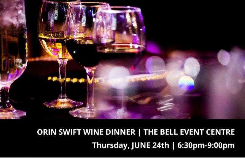 Orin Swift Wine Dinner
